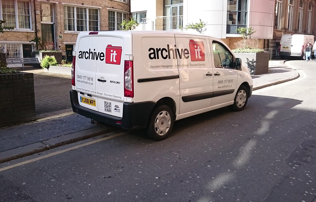 Archive It - Van with logo