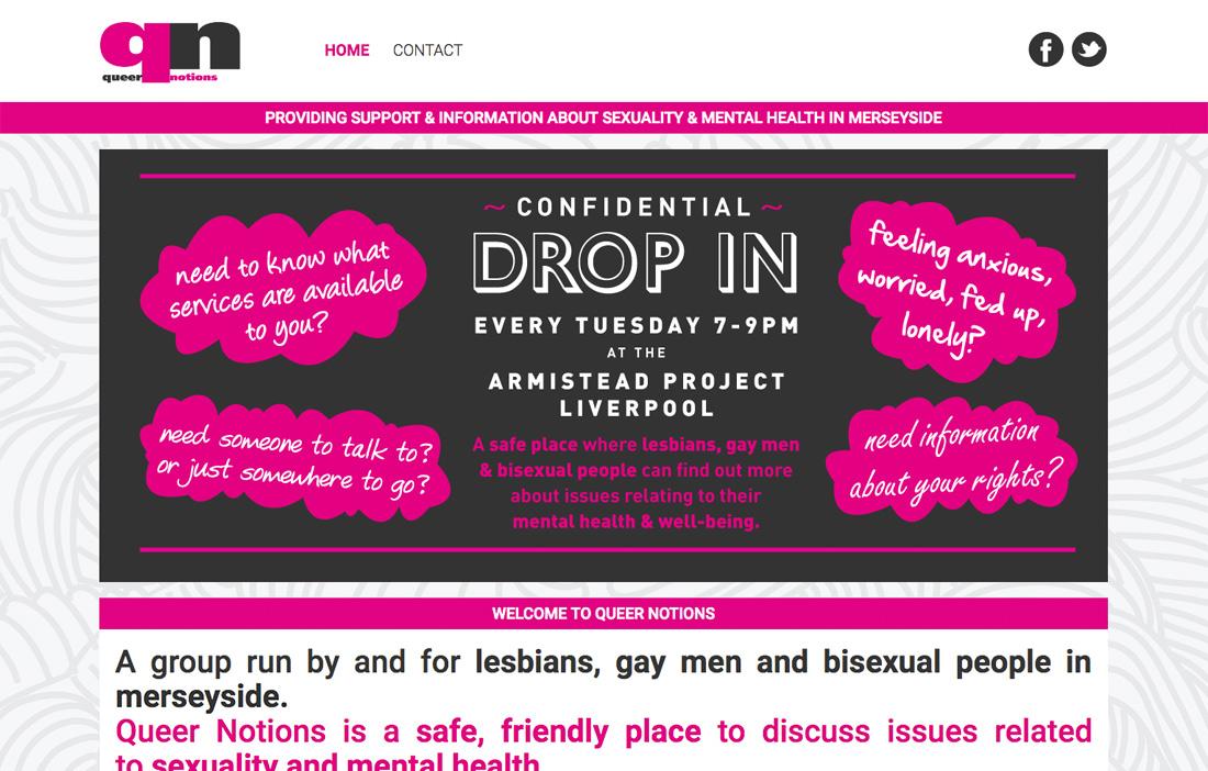 Queer Notions - Website
